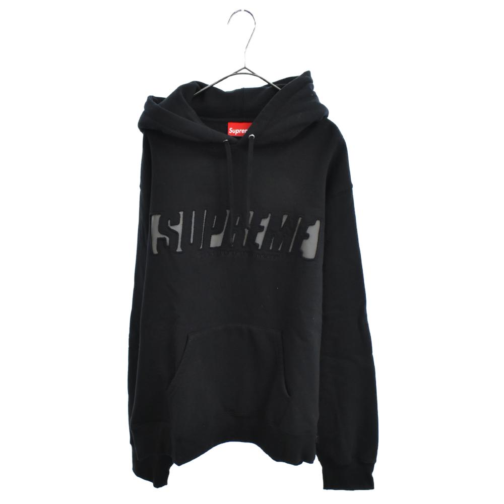 Reflective Cutout Hooded Sweatshirt リフレクティブ カットアウト プルオーバーパーカー
