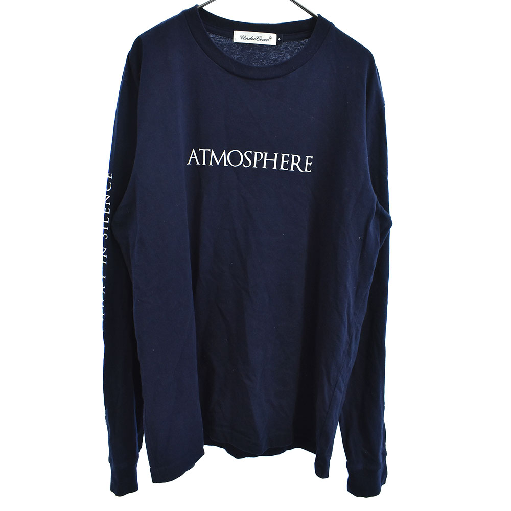 L/S TEE ATMOSPHERE JOY DIVISION グラフィックプリント長袖Tシャツ ジョイディビジョン
