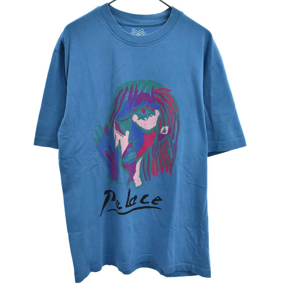 SIGNATURE T-SHIRT シグネチャープリント半袖Tシャツ