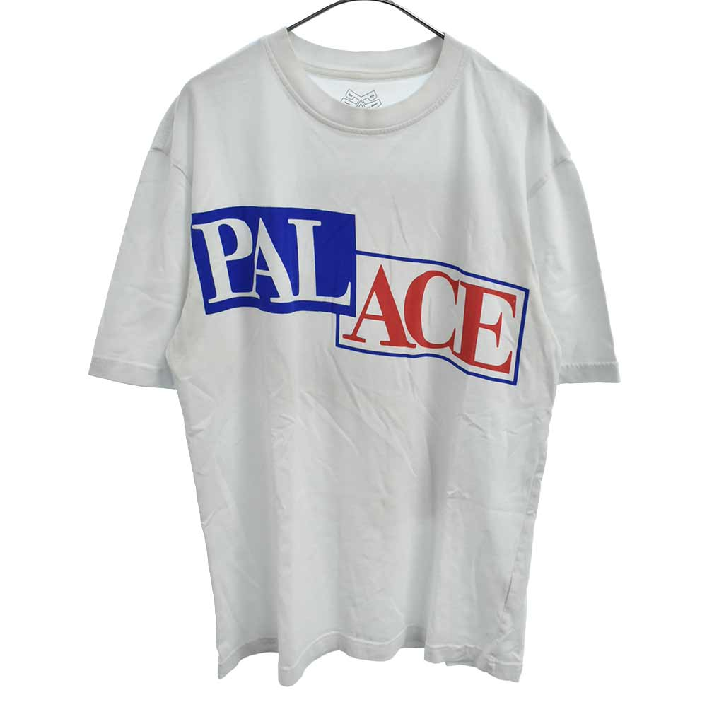 P STAR T-SHIRT Pスターバックプリント半袖Tシャツ