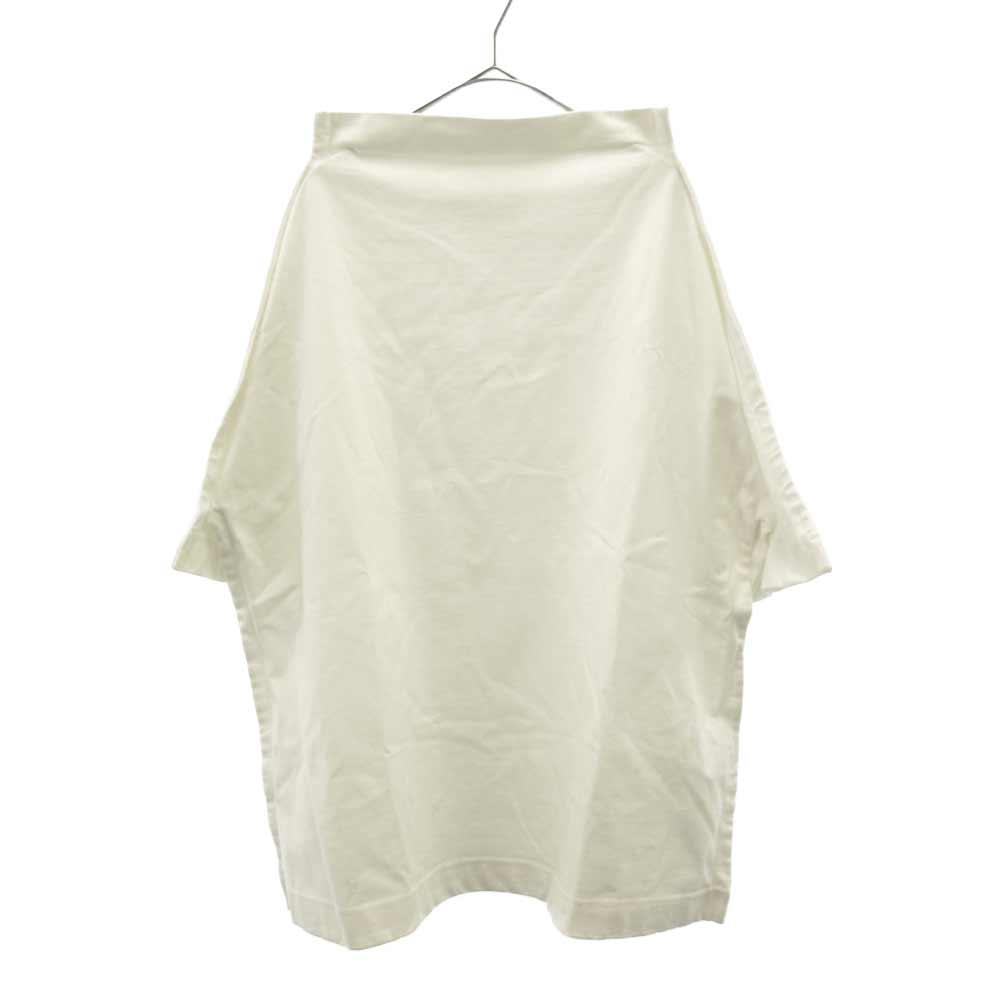Funnel Neck Boxy TShirt フランネルボトルネック半袖Tシャツ