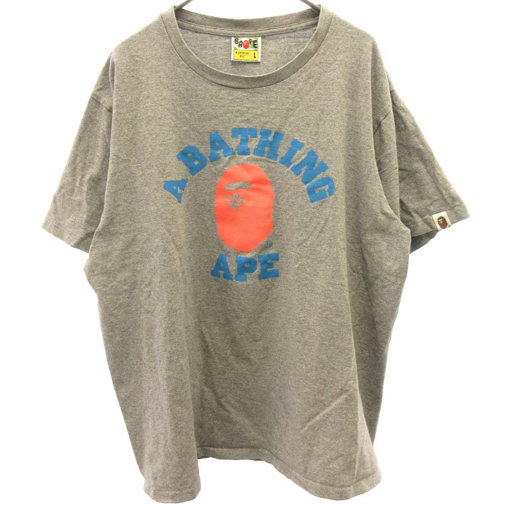 フロントカレッジロゴ Tシャツ