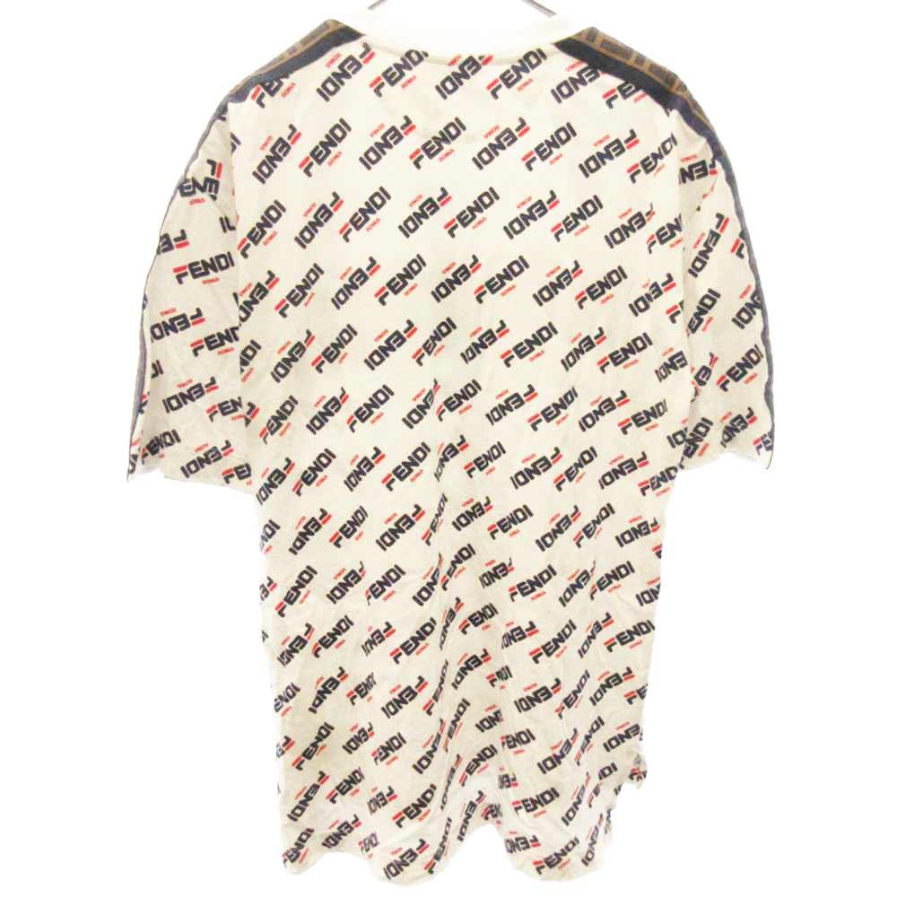 マニアロゴ総柄半袖Tシャツ