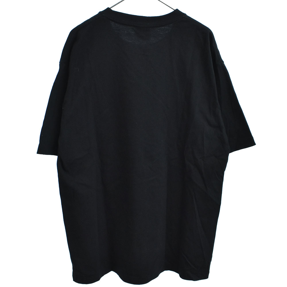 Color Camo College Tee 猿カモカレッジロゴクルーネック半袖Tシャツ