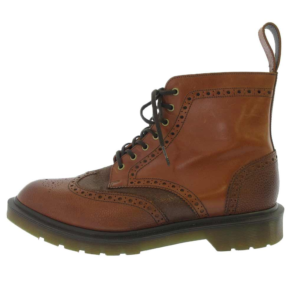 Caccia raccomandare Stazione ferroviaria  Dr.Martens - ANTHONY BROGUE BOOT Anthony 7 hole leather boots cherry brown  UK7 MEN | OR NOT