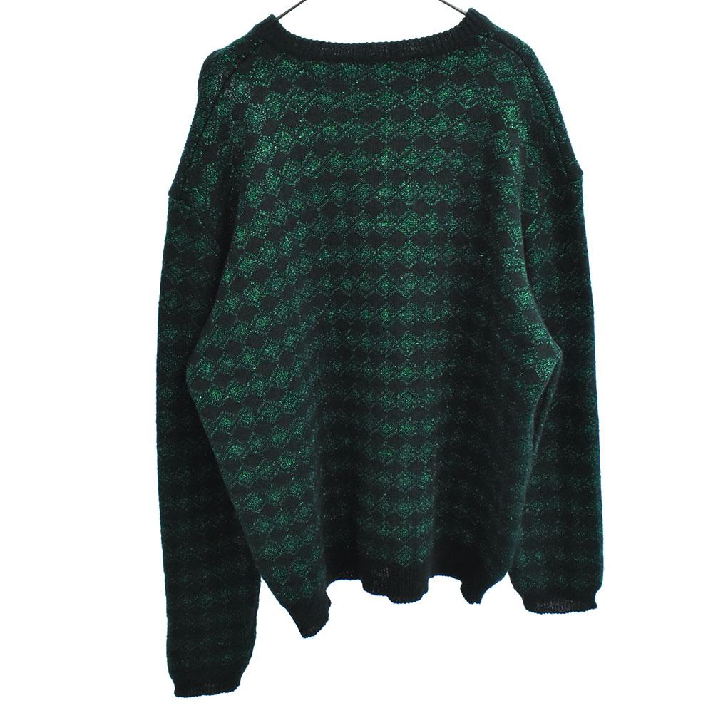 2ネックホールデザインニット セーター