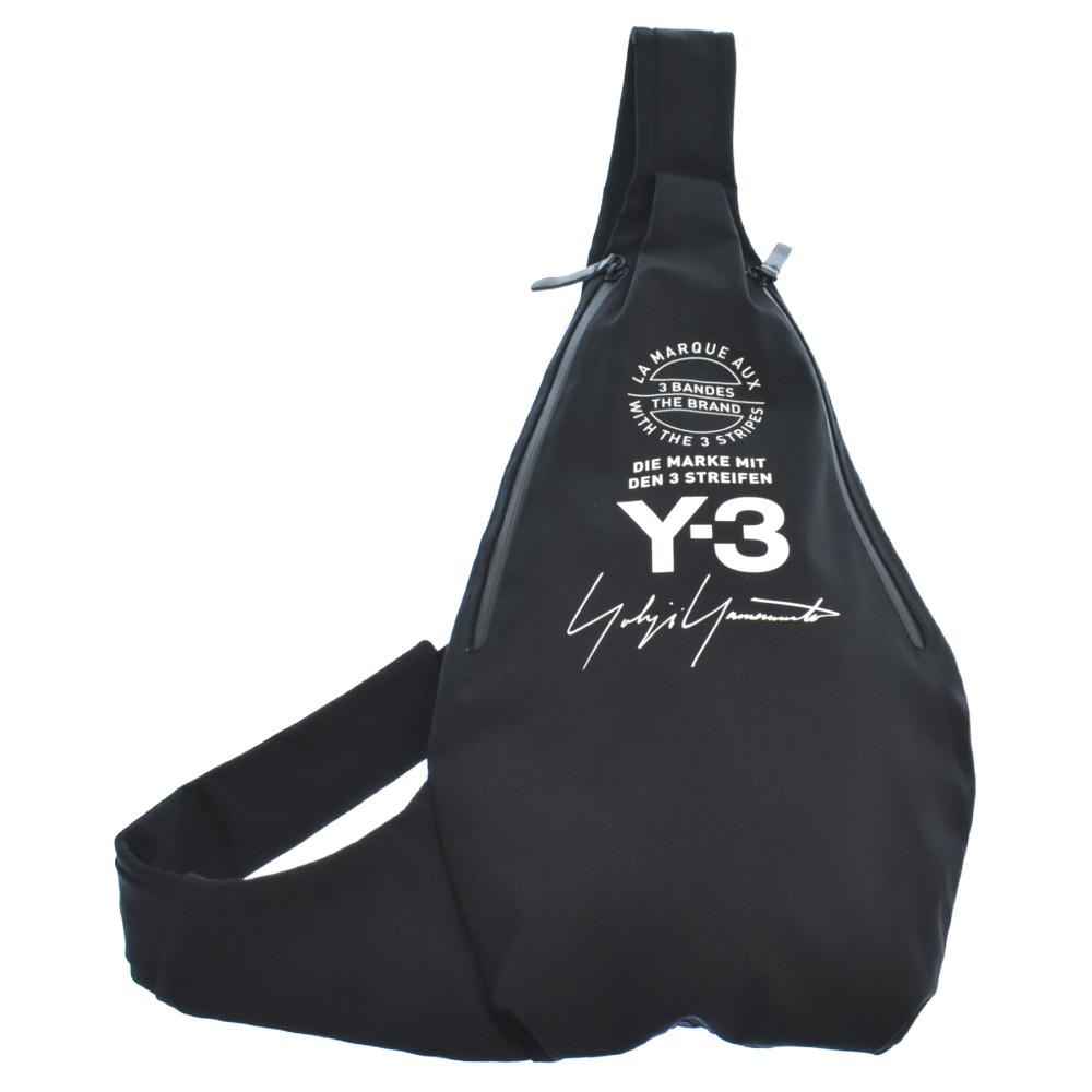 MESSENGER BAG シグネチャーロゴプリントクロスボディバッグ