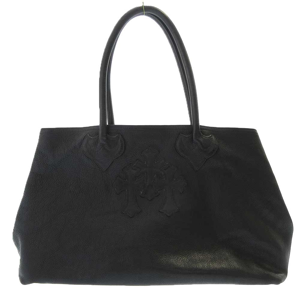 TOTE W/SNP 3CEME 3 セメタリー クロス レザー トート バッグ