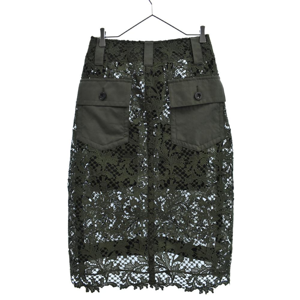 Embroidery Lace Skirt エンブロイダリーレーススカート