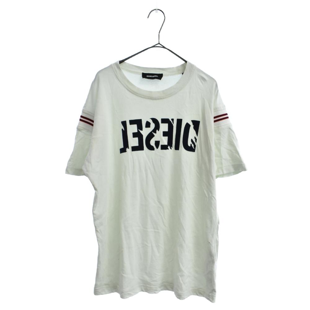 フロントロゴフェルト 半袖Tシャツ