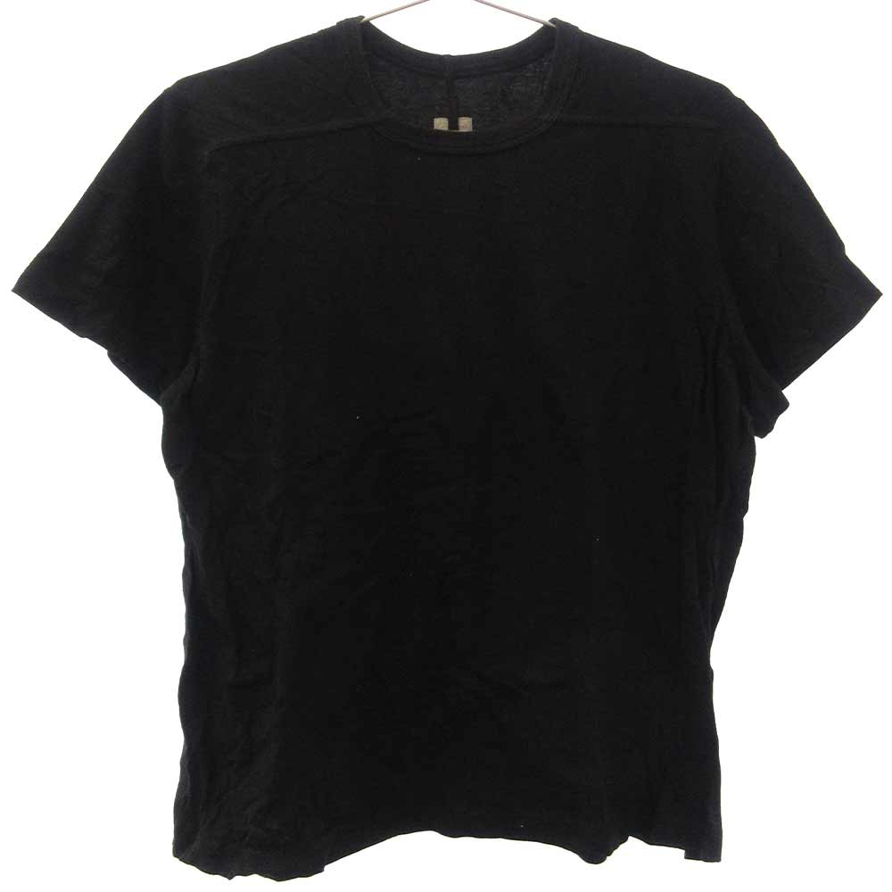 LEVEL TEE ショート丈スリーブクルーネック半袖Tシャツ