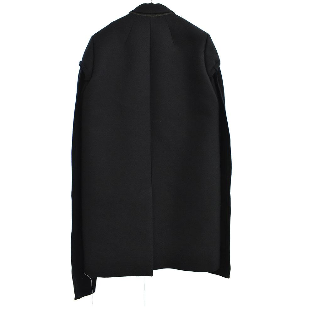 GLITTER期 LOOK34 Short Wool Plain Panel Docking Coat Jacket I パネルドッキングショートコートジャケット