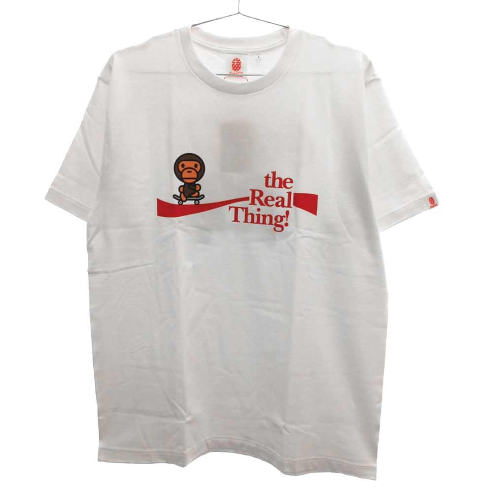 ×COCA-COLA コカコーラ プリント半袖Tシャツ