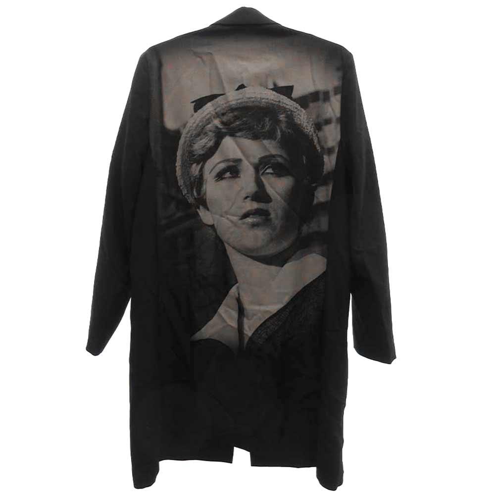 Cindy Sherman single breasted jacket バックプリント 1B ロングテーラードジャケット