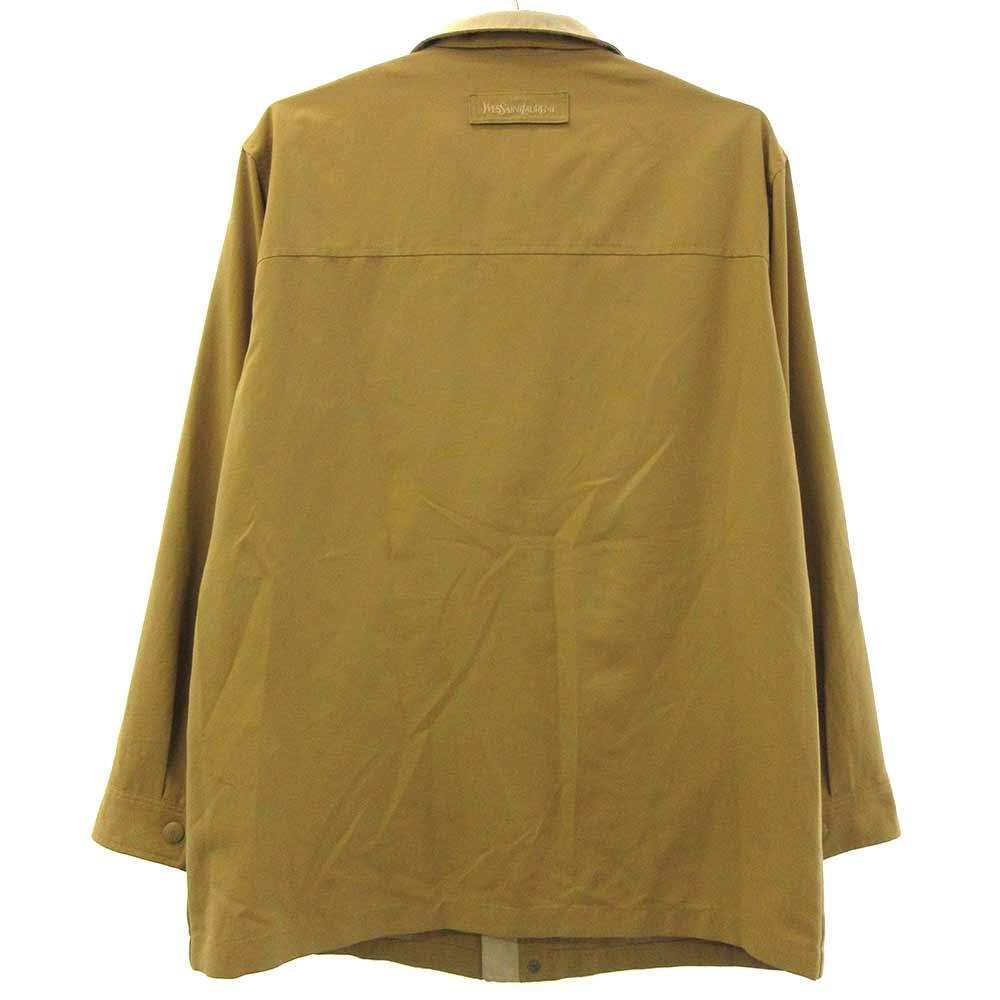 YSLロゴ刺繍スウィングトップジャケット ブルゾン