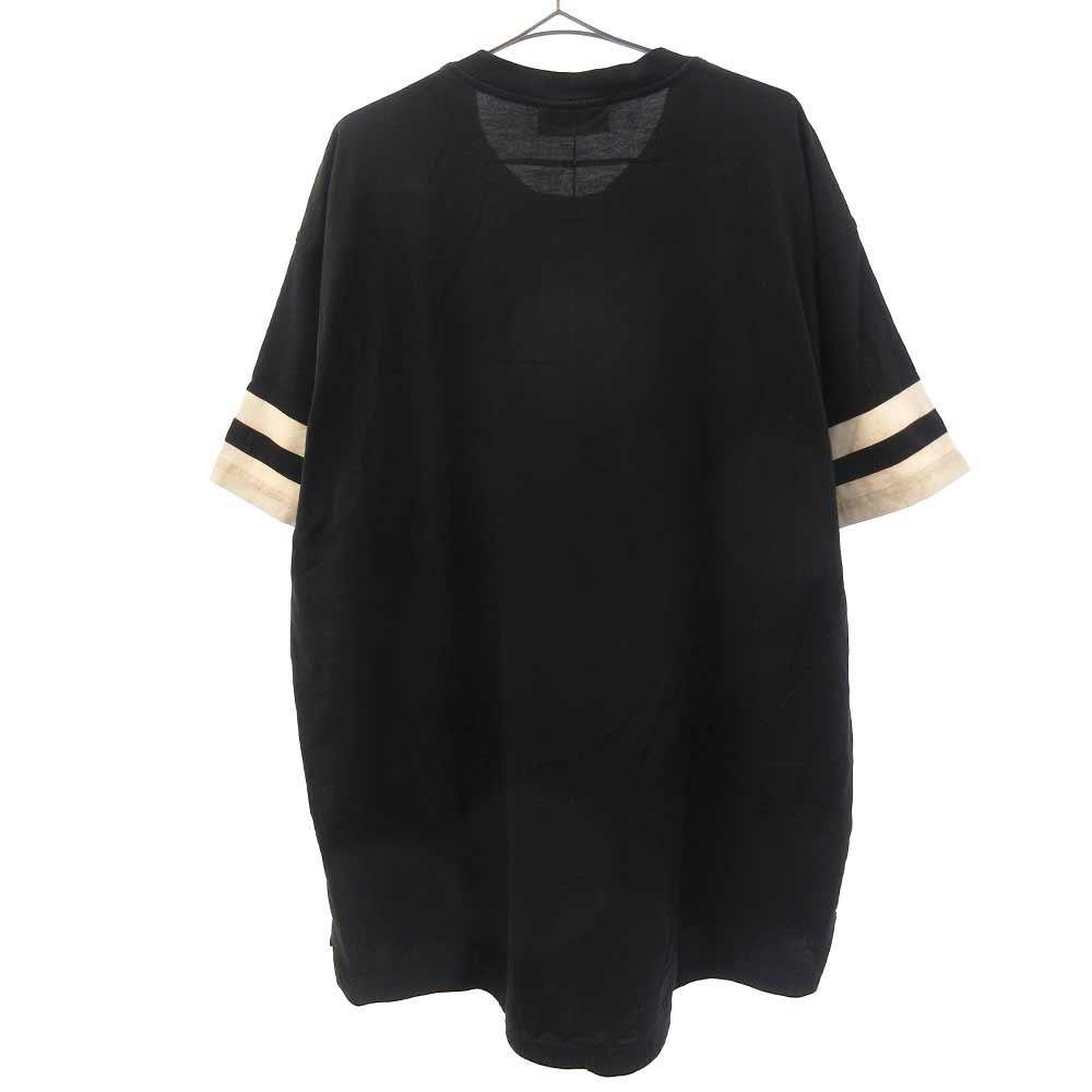 17ナンバリングロゴプリント 半袖Tシャツ