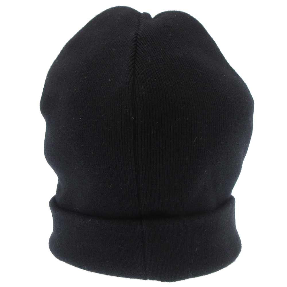ロゴウールニットキャップ ビーニー 二ット帽子