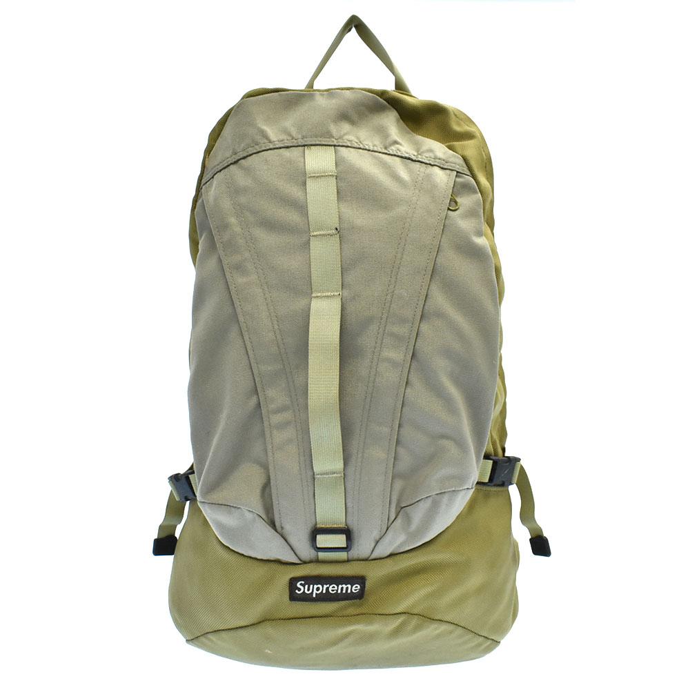 Backpack 10代目ボックスロゴナイロンバッグパック リュックサック