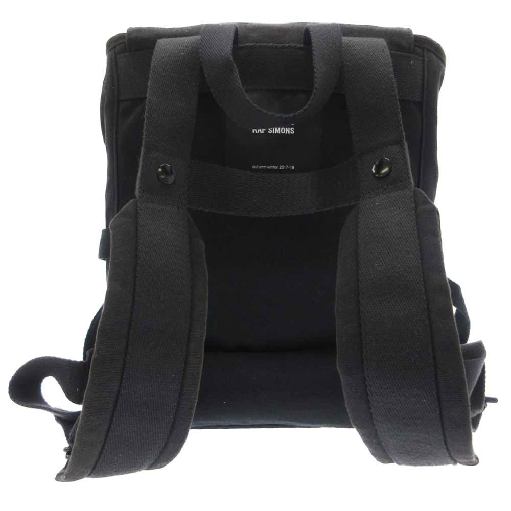 Flat Topload Backpack キャンパス地バックパック リュック デイパック