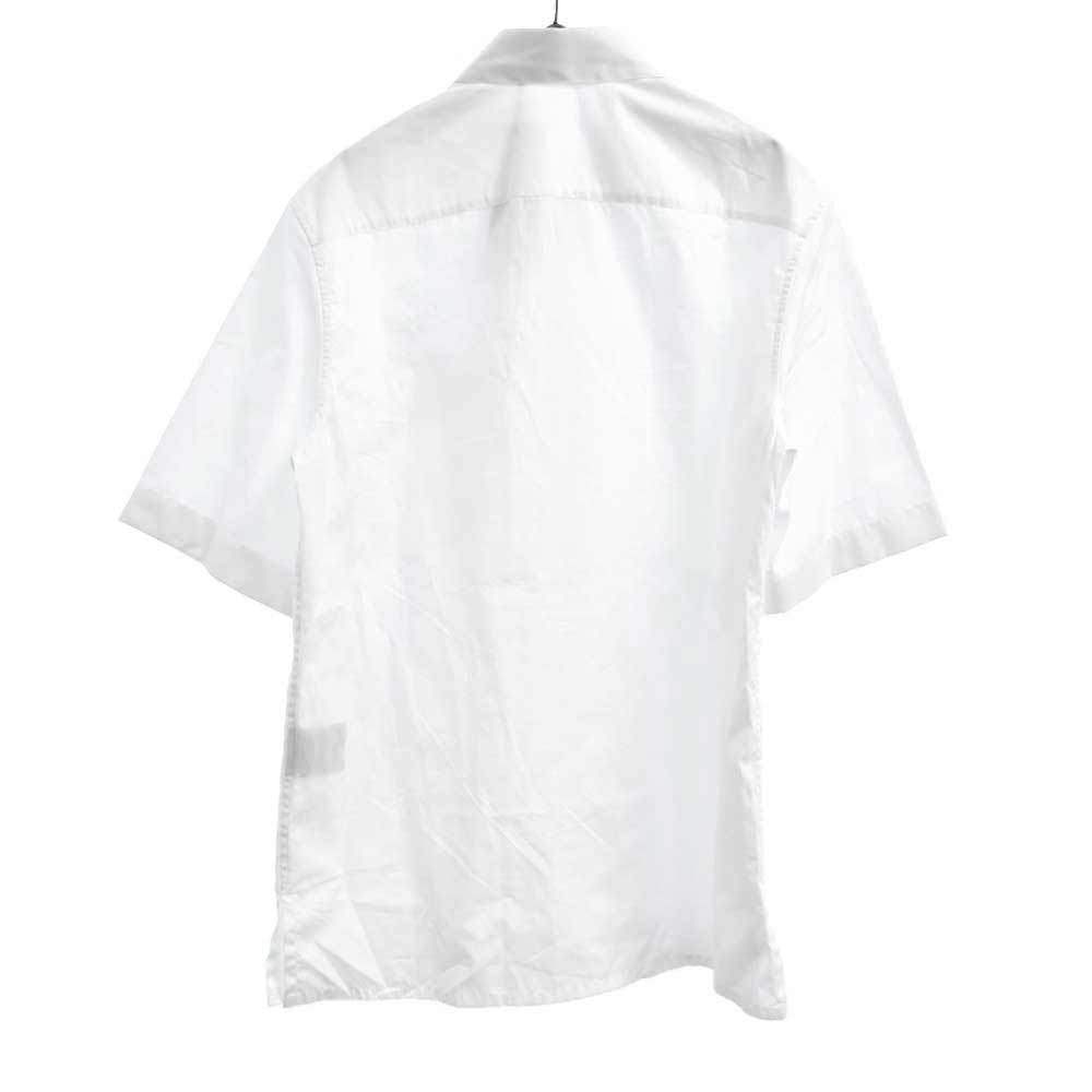 """×NIKE ナイキ JORDAN BRAND """"""""AIR DIOR"""""""" M.Woven Shirt ロゴプリント半袖ドレスシャツ"""