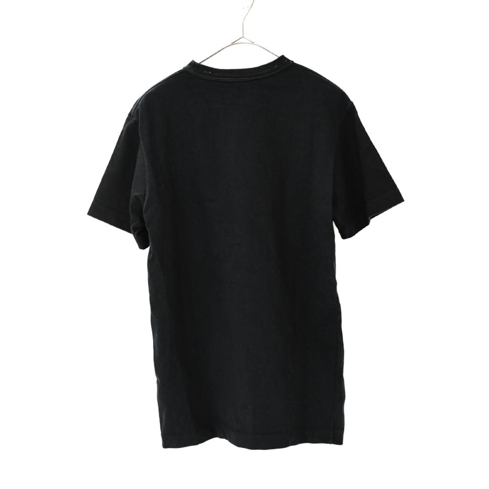 スパンコールキムジョーンズロゴ半袖Tシャツ
