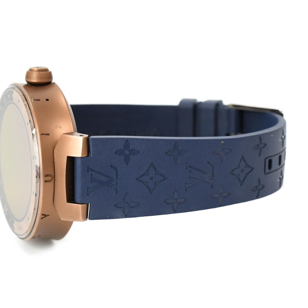 タンブール ホライゾン デジタル スマートウォッチ QA052Z 腕時計