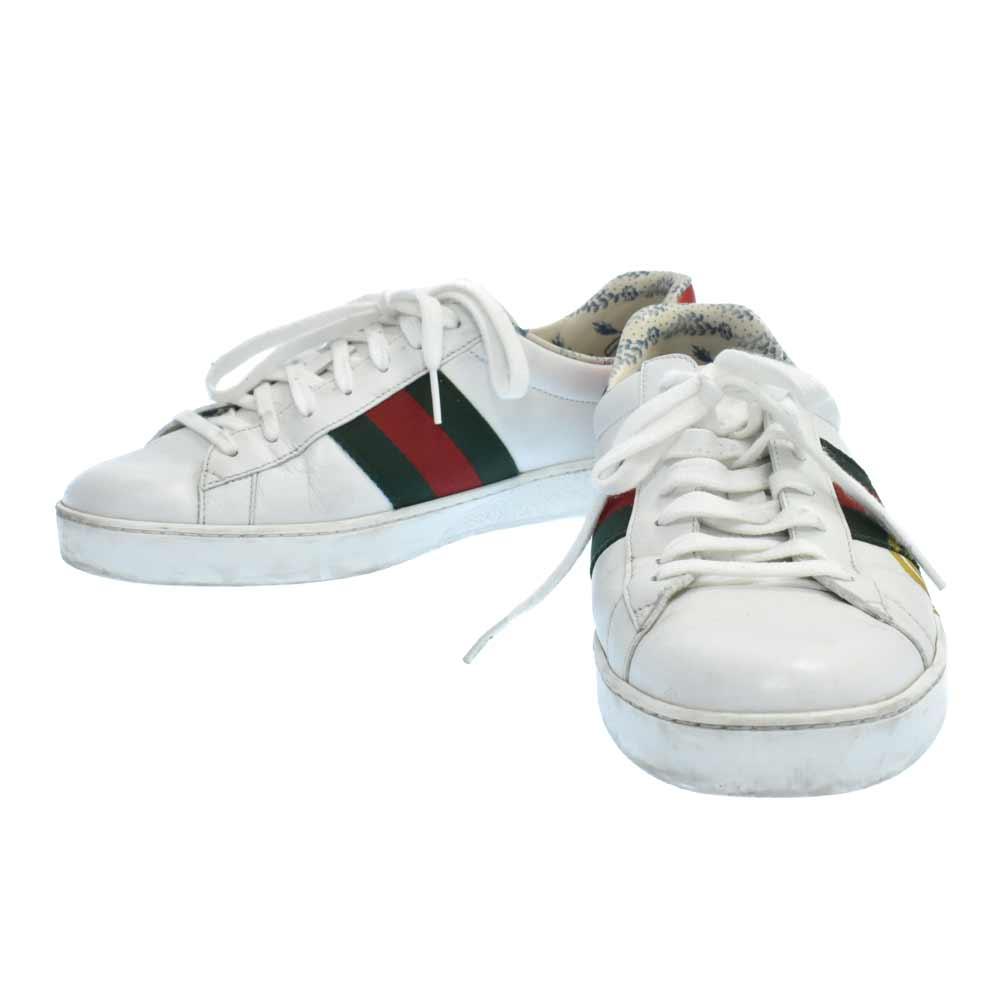 New Ace sneakers グリッターロゴ ラメプリント ローカットスニーカー