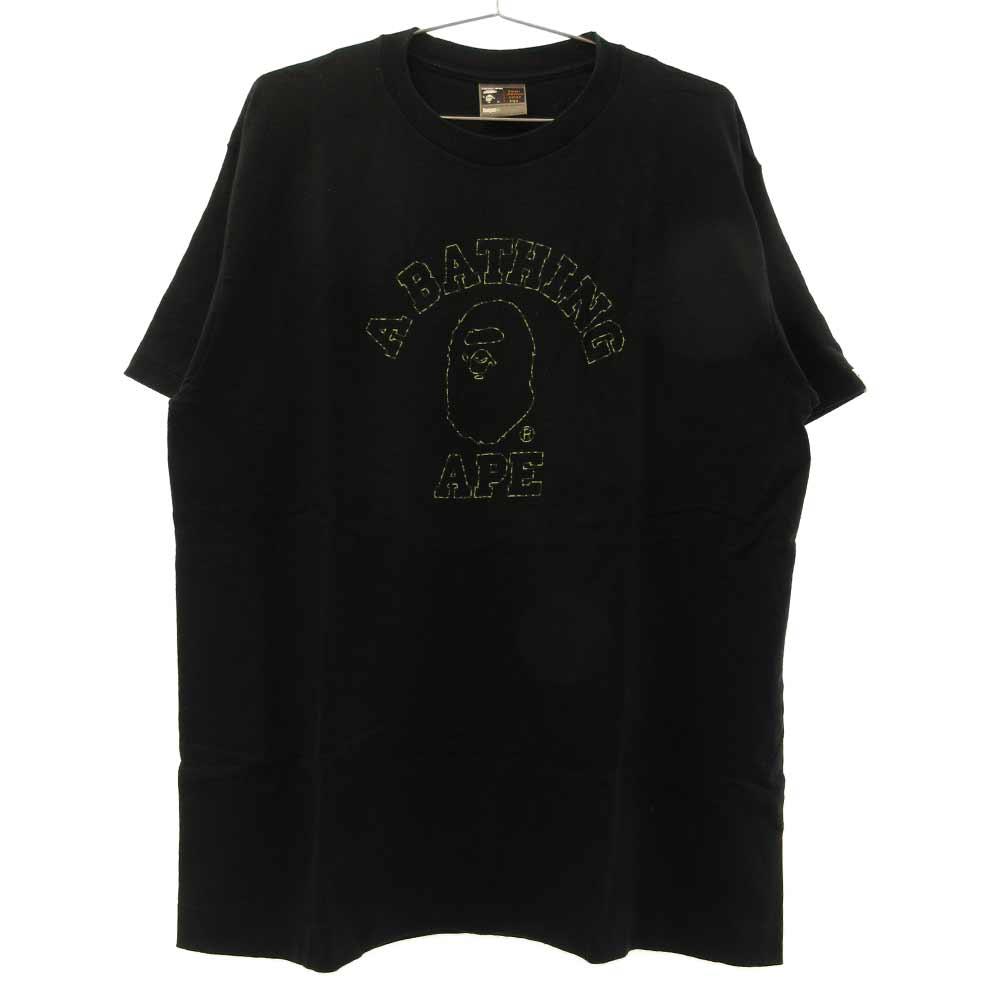 フロントフォトプリント 半袖Tシャツ