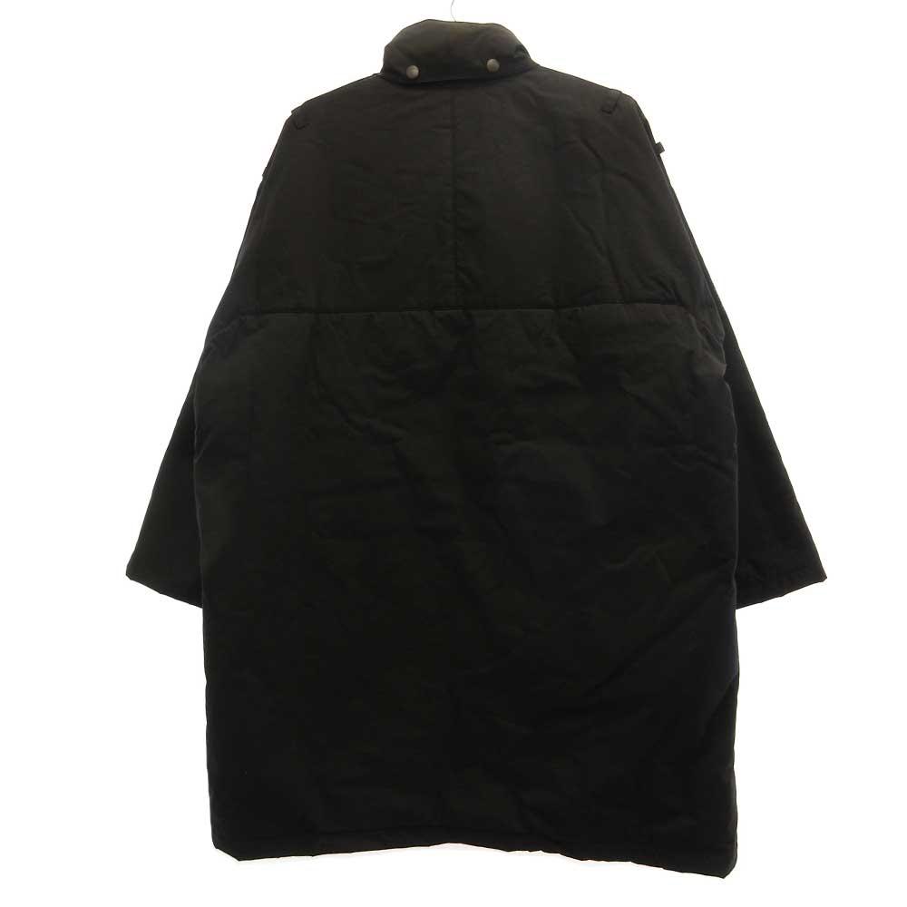 FINX NYLON BATTING HOODED COAT 中綿フーデッドコートジャケット