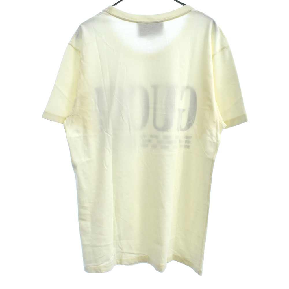 シティロゴプリント半袖Tシャツ ※内タグカット有