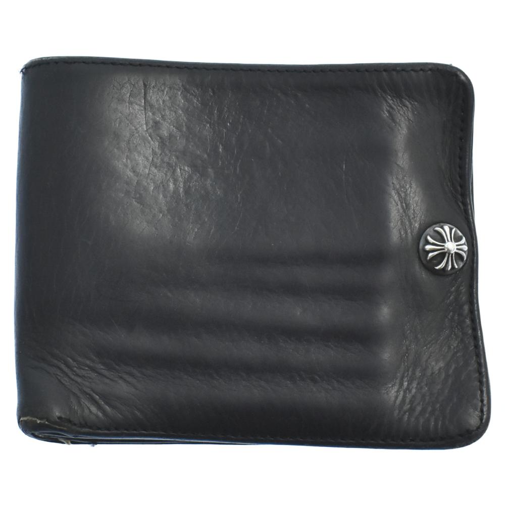 クロスボール付き1スナップウォレット 二つ折り財布