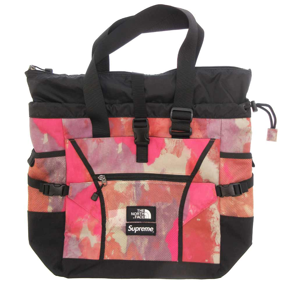 ×THE NORTH FACE Adventure Tote ザノースフェイス メッシュ切り替えナイロントートバッグ