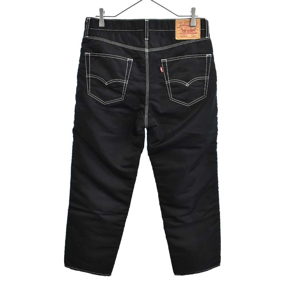 ×Levis Nylon Pants 5ポケットナイロン中綿入ストレートパンツ リーバイス