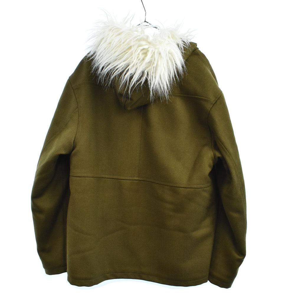 ファートリム裏ボアフーテッドジャケット