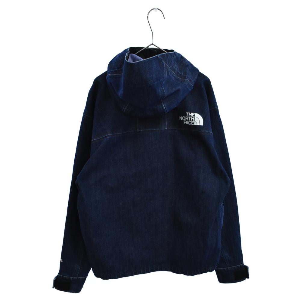 ゴアテックスデニムマウンテンジャケット マウンテンパーカー フーデッドジップアップジャケット