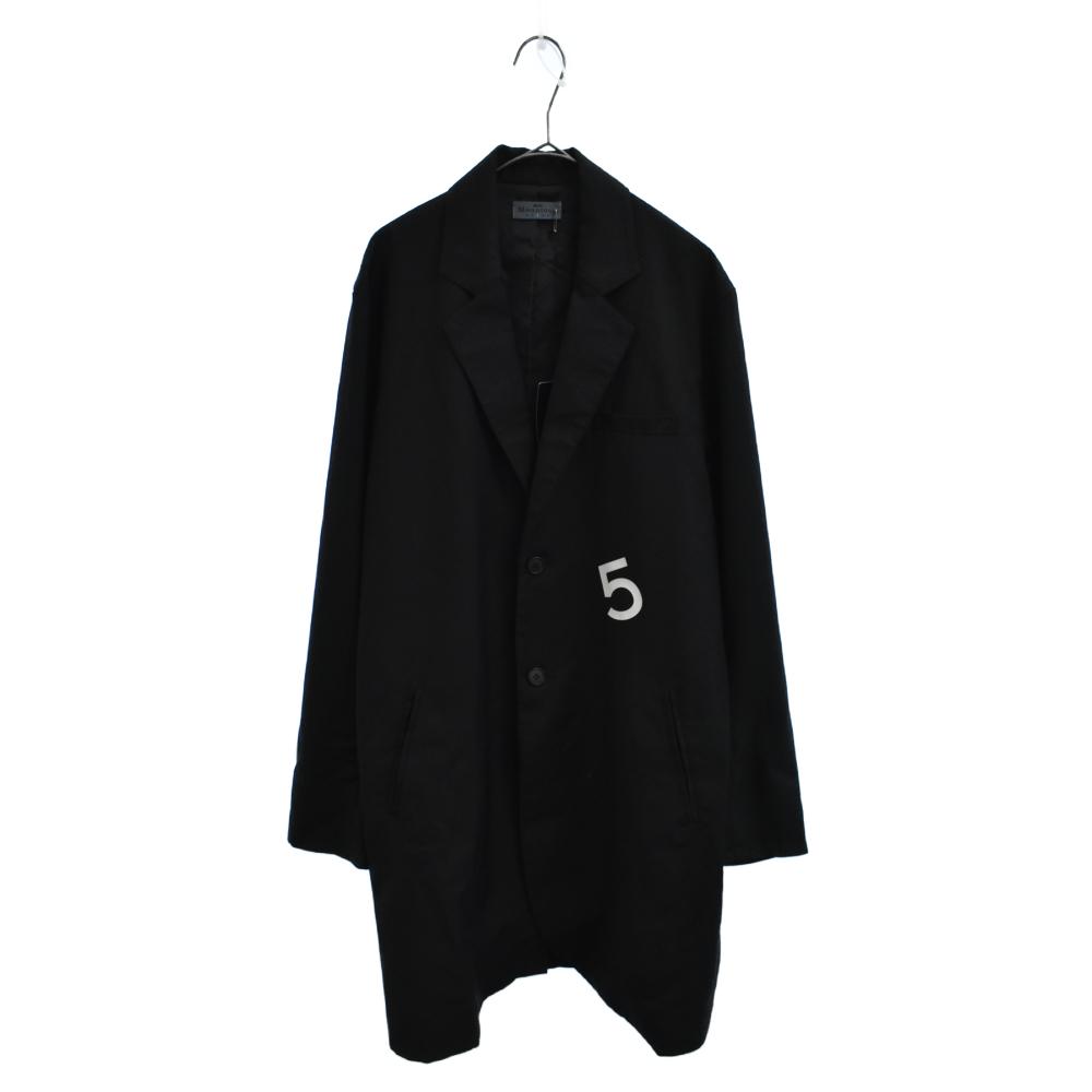 GB0118 / MN08 : Back print chester coat ナンバリングプリントチェスターコート