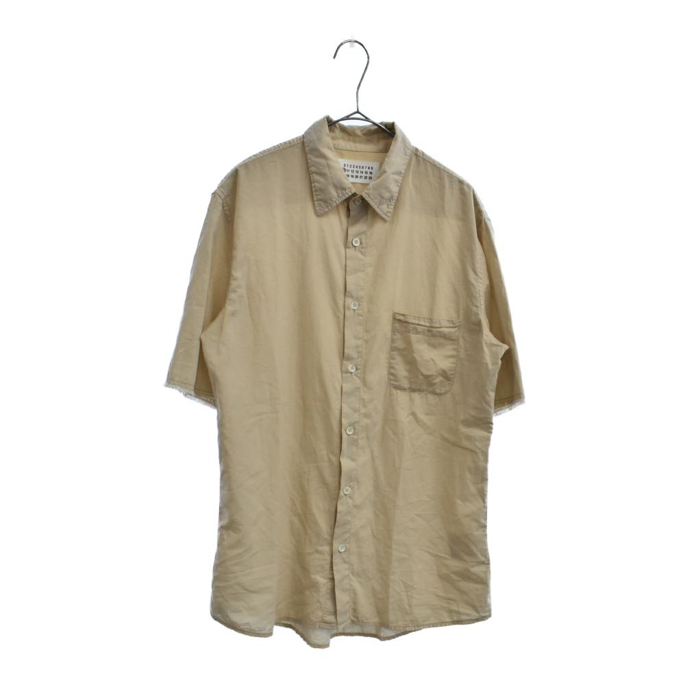 ポケット付き半袖シャツ