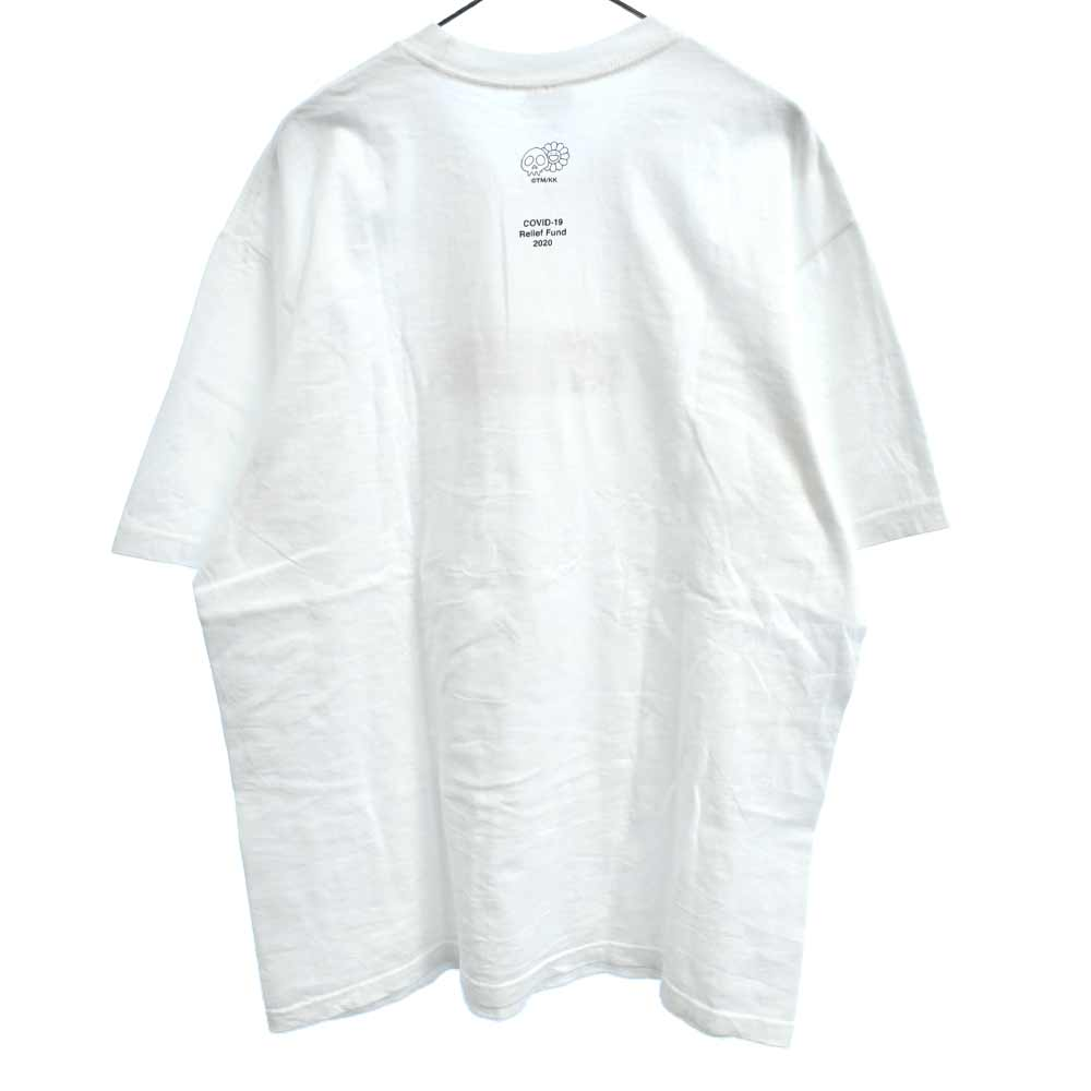 ×村上隆 COVID-19 Relief Box Logo Tee ボックスロゴ半袖Tシャツ