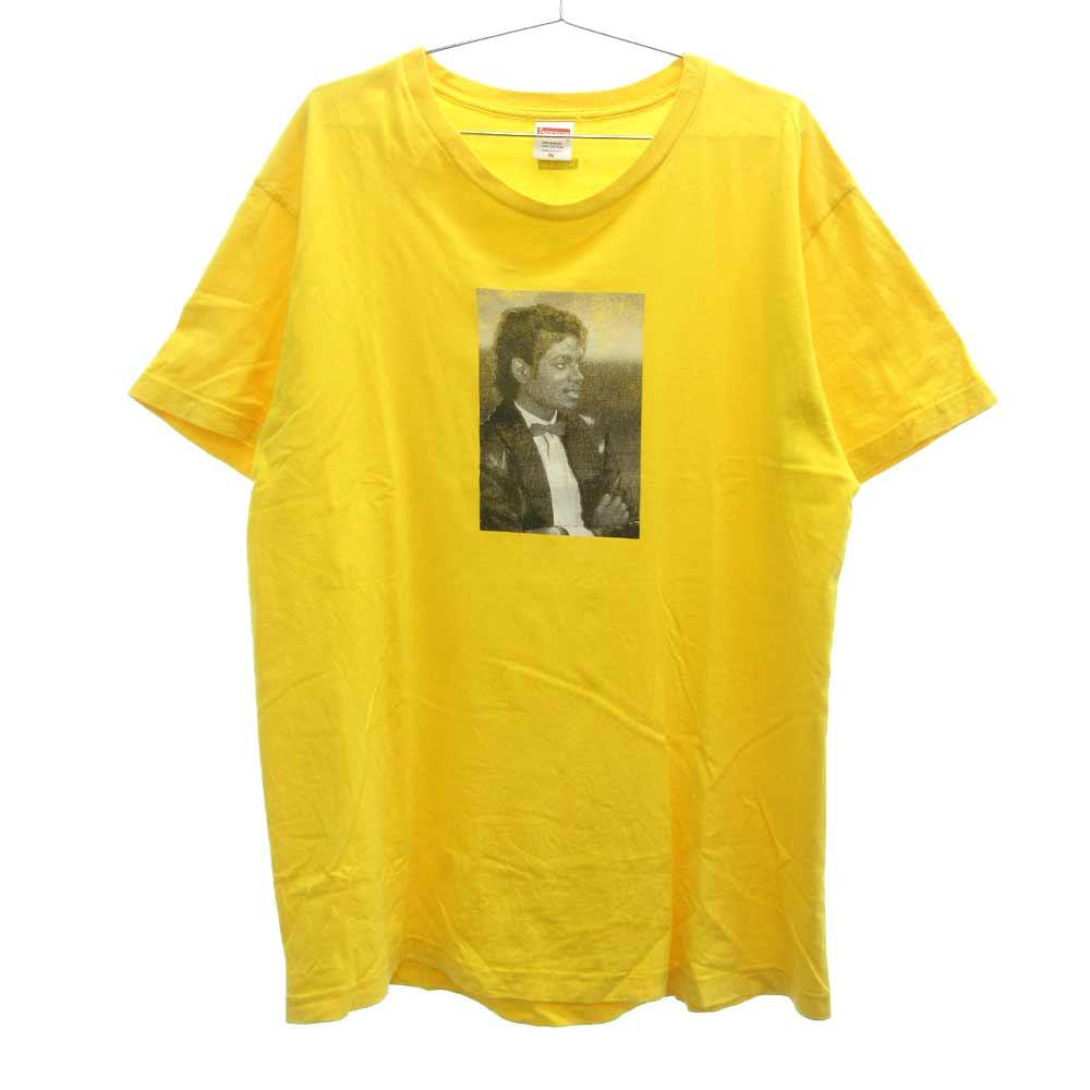 ×Michael Jackson マイケルジャクソンフォトプリント半袖Tシャツ