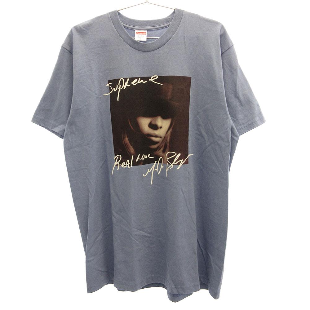 Mary J. Blige Tee メアリーJフォトプリント半袖Tシャツ