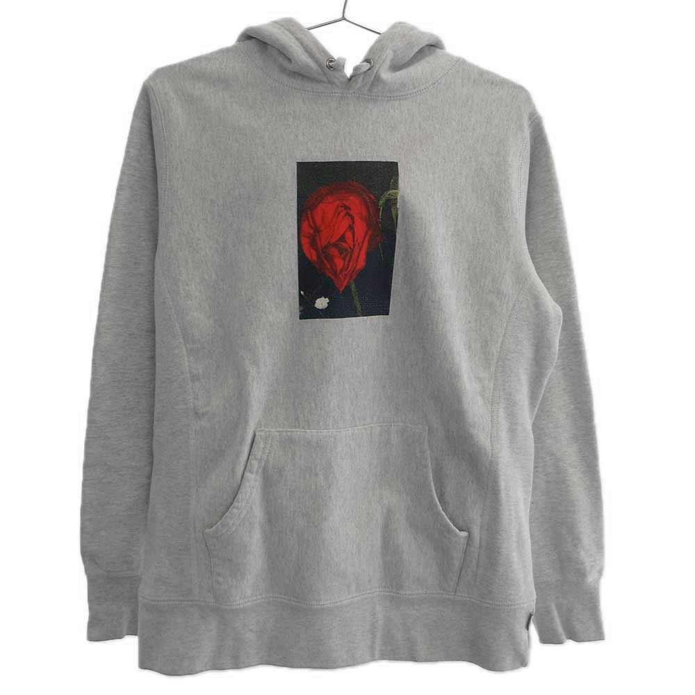 Araki Rose Hooded Sweatshirt 荒木経惟 薔薇 アラキ ローズフォトプリントスウェットパーカー