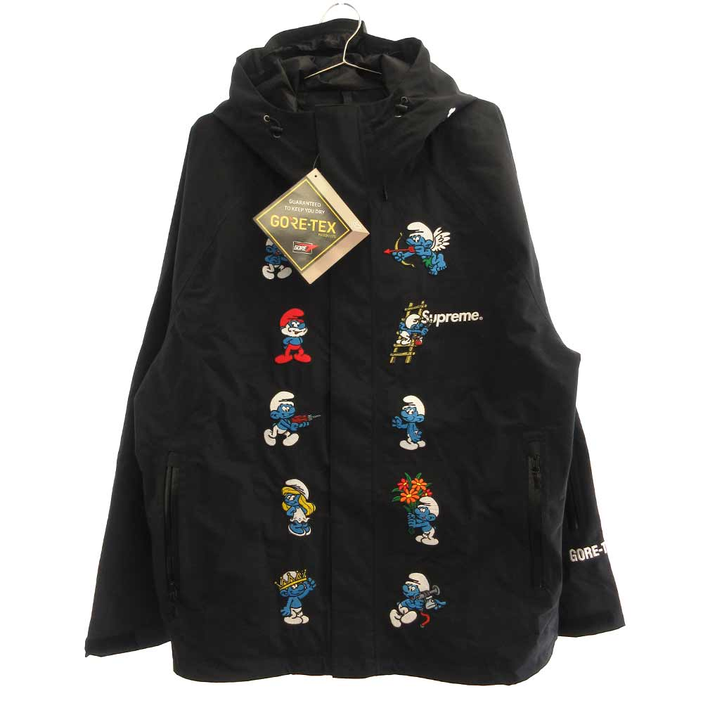 Smurfs GORE-TEX Shell Jacket Black スマーフゴアテックスナイロンジャケット
