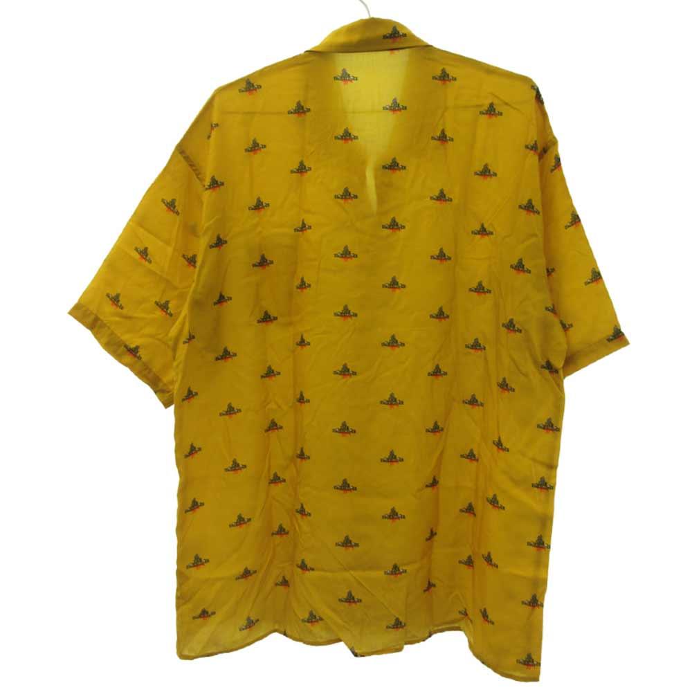 ロゴプリント半袖シャツ