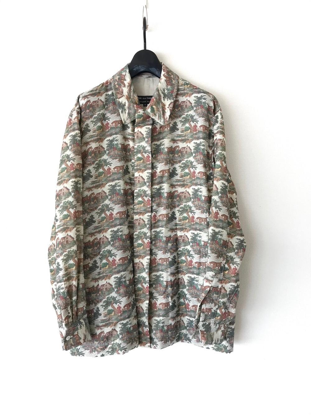 風景画 比翼仕立てジャケット
