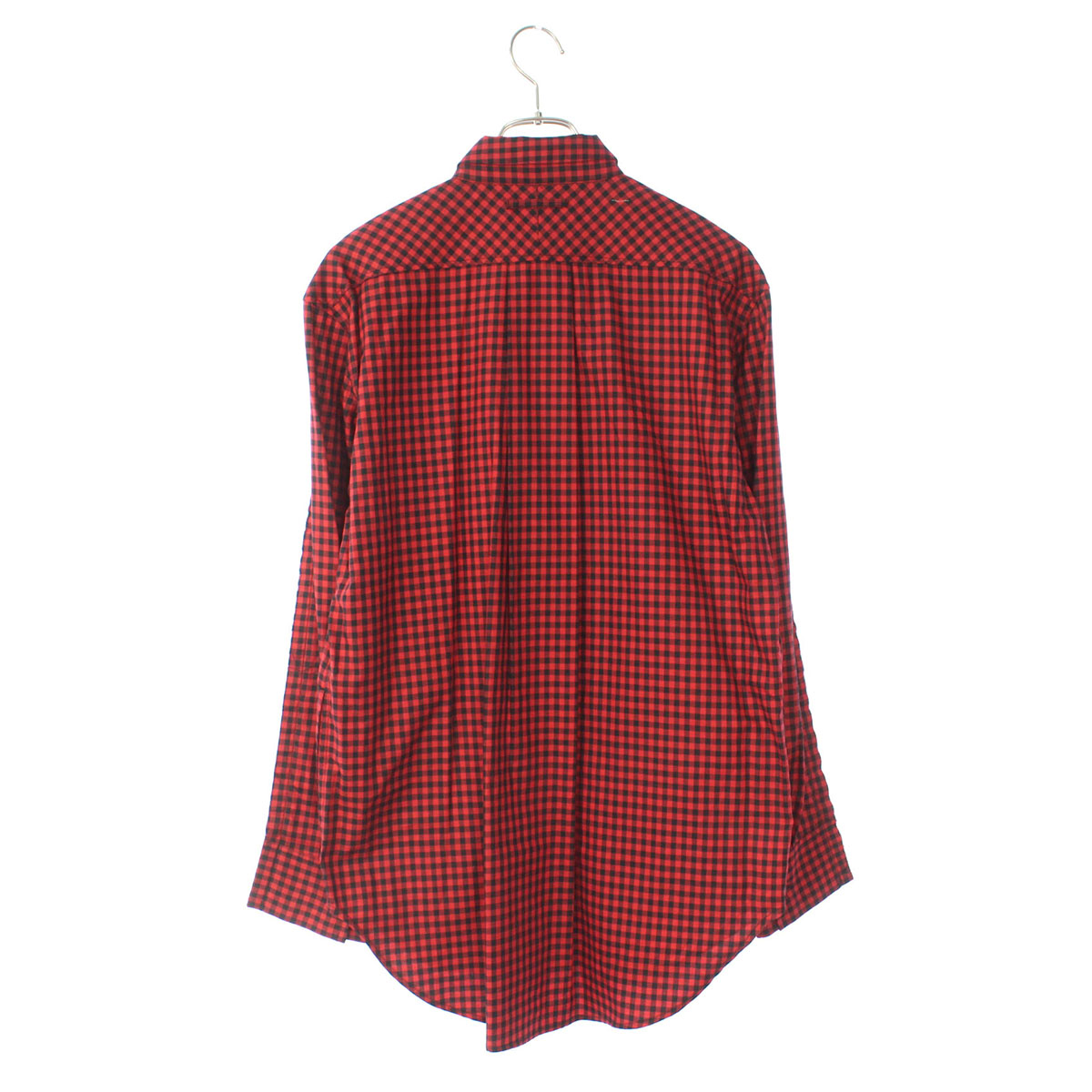 Joined long sleeve check shirt
