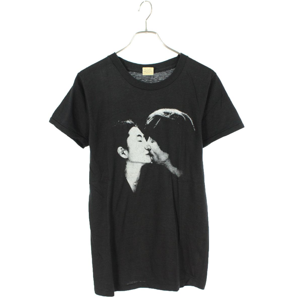 80s John Yoko ダブルファンタジー Tシャツ