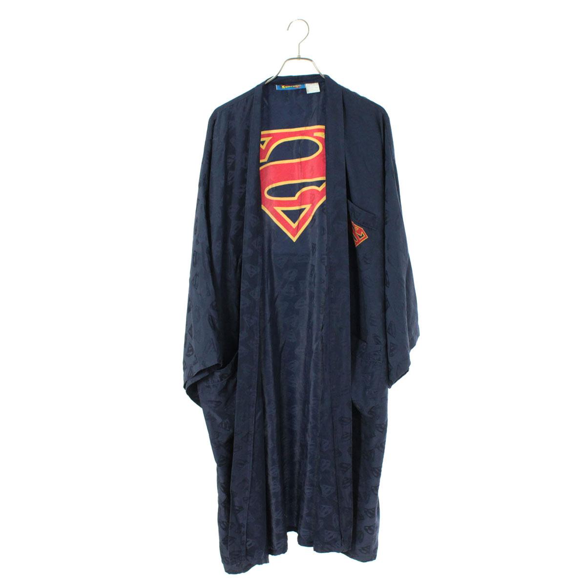 SUPERMAN SILK GOWN