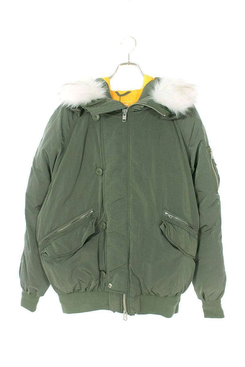 3M THINSULATEファー切替中綿ボンバージャケット