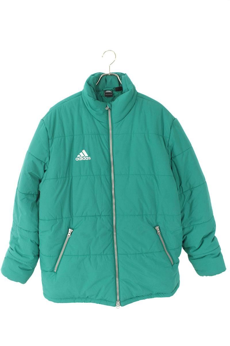 バックロゴオーバーサイズ中綿入りジャケット