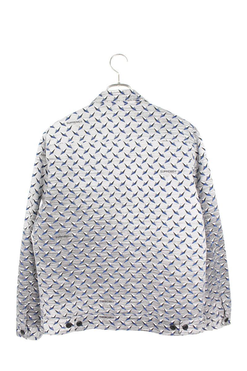 ダイヤモンドプレート総柄キルティングジャケット